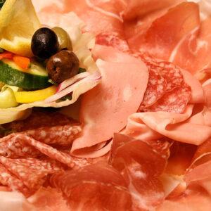 Brunos Italian Restaurant Dumfries - Mixed Italian Salami