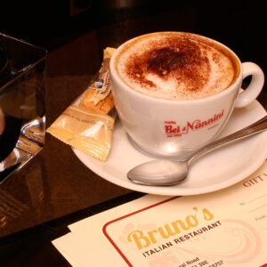 Brunos Italian Restaurant Dumfries - Fresh Ground Coffee