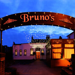 Brunos Italian Restaurant Dumfries - Restaurant Entrance