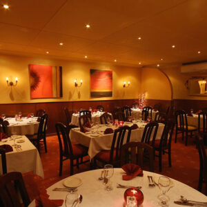 Brunos Italian Restaurant Dumfries - Dining Room