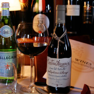 Brunos Italian Restaurant Dumfries - Wine Selection