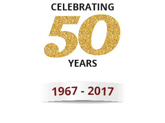 Celebrating 50 Years (1967 - 2017)